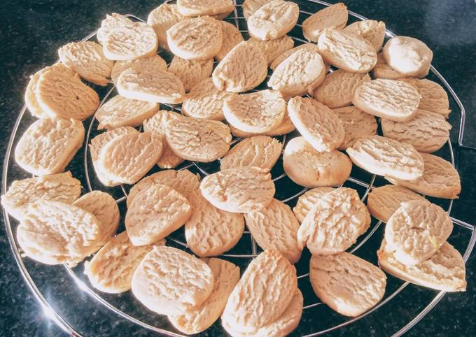 Biscuits fondants au citron vert (vegan)