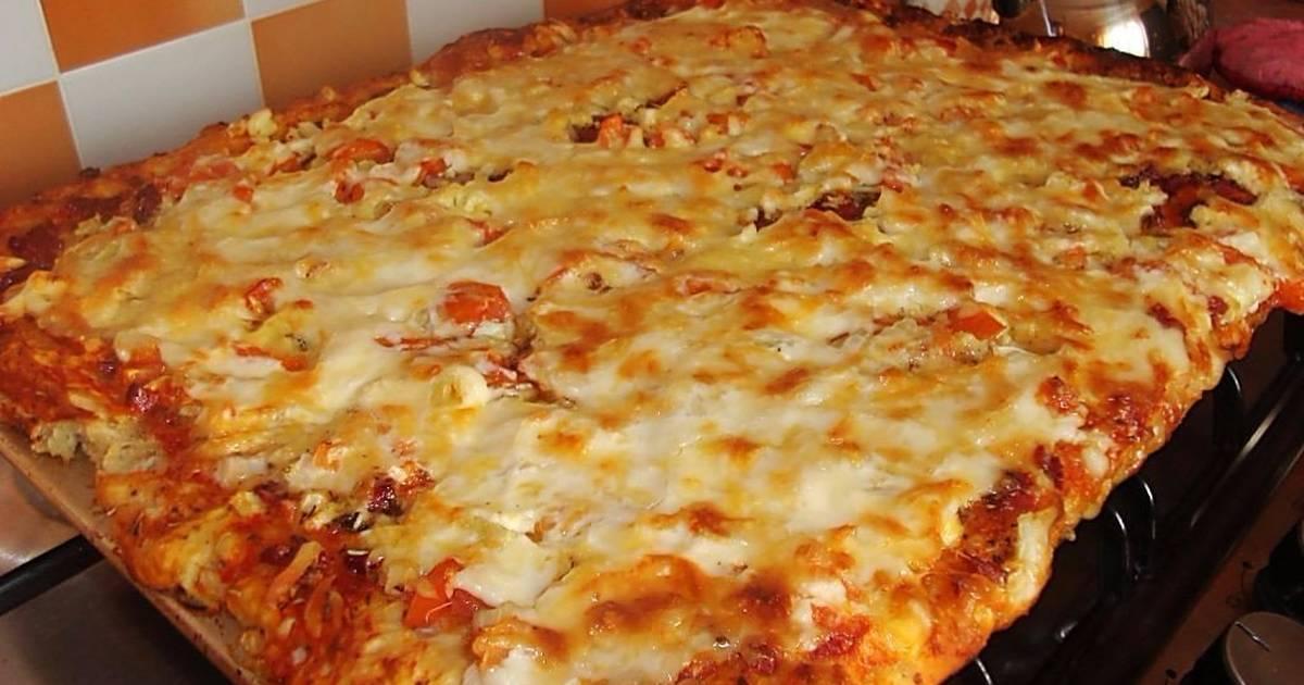 тех пор пицца рецепт с фото готовим дома перестаете