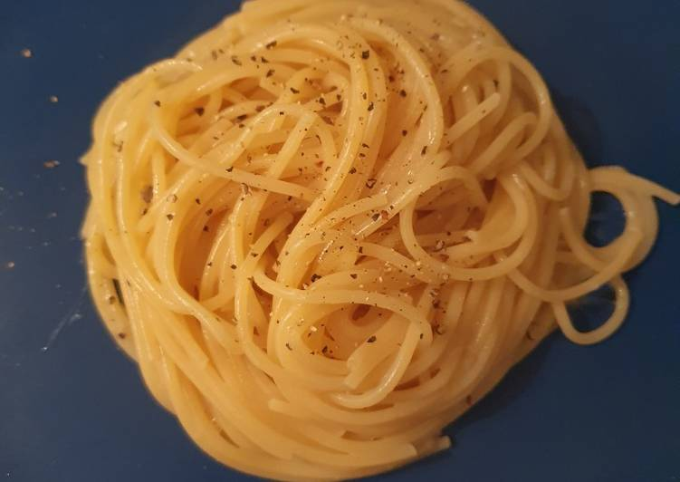 Easiest Way to Cook Yummy Spaghetti cacio e pepe