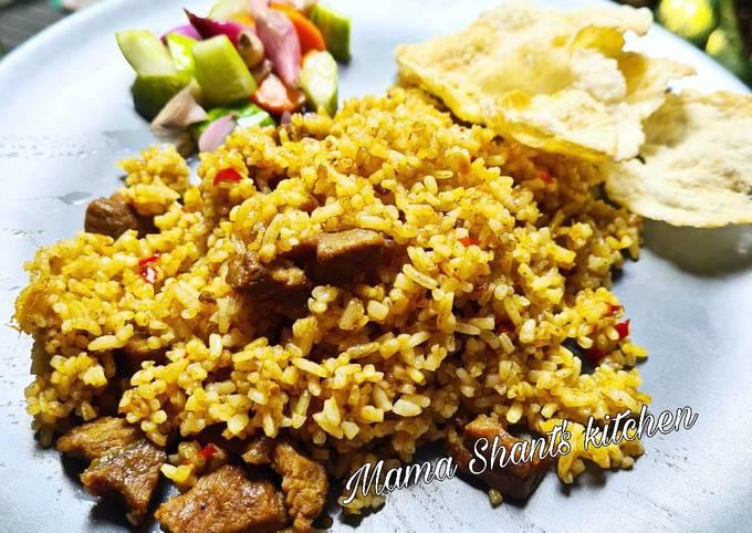 Resep memasak Nasi goreng kambing ala Kebon Sirih Sederhana dan Mudah Dibuat
