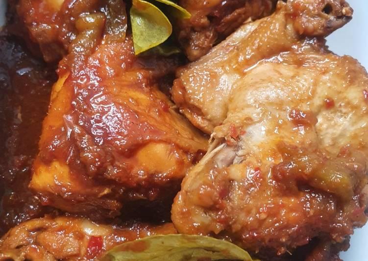 Cara bikin Ayam kecap pedas manis , Bisa Manjain Lidah