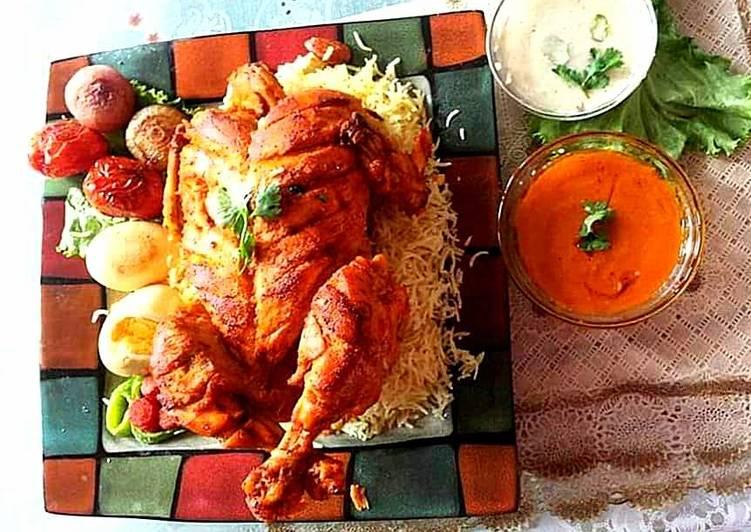 Lahori chicken chargha
