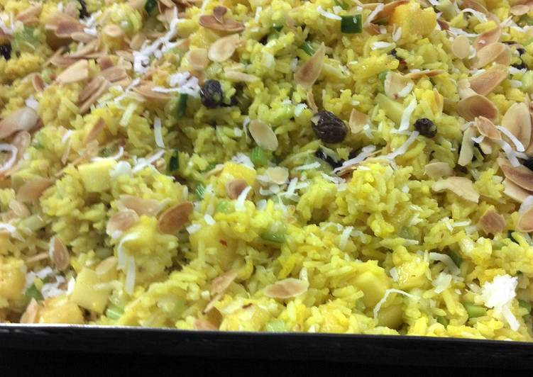 Going Green for Better Health By Dining Superfoods Hawaiian Rice Salad