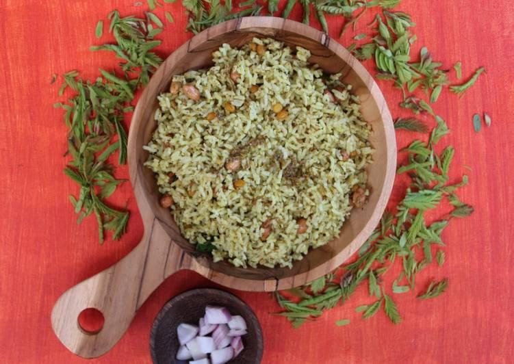 Everyday of Tamarind leaves rice