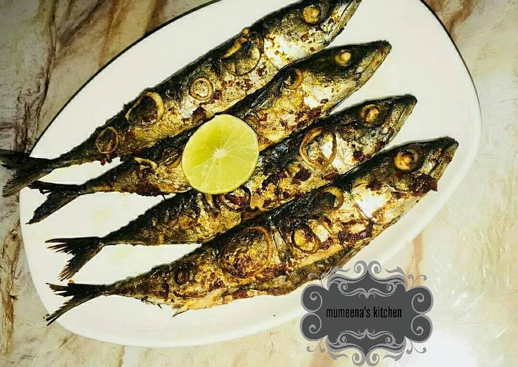 Recipe: Appetizing Grilled mackerel fish