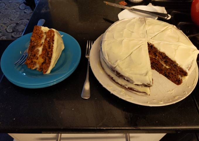 Divorce Carrot Cake