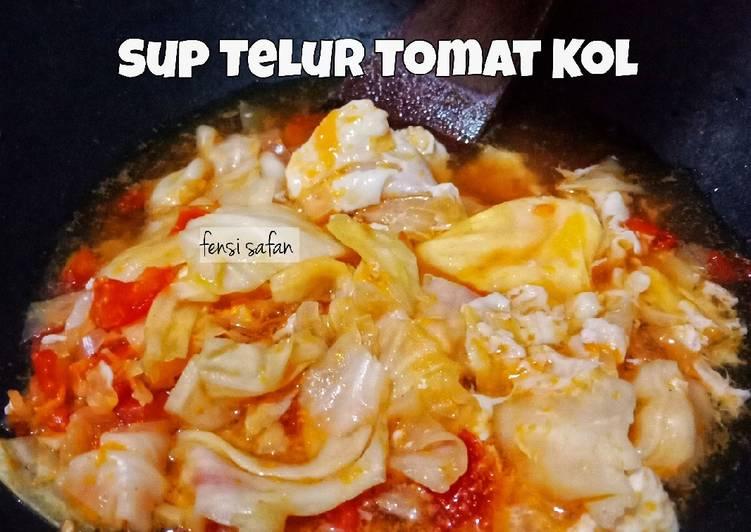 Sup Telur Tomat Kol #diet