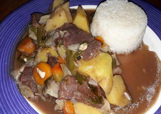 Estofado De Palomilla Receta De Bendecido Cookpad