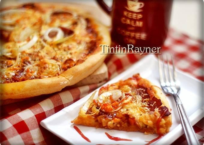 Resep Pizza Tanpa Ulen No Knead Mudah Lezat Oleh Tintin Rayner Cookpad