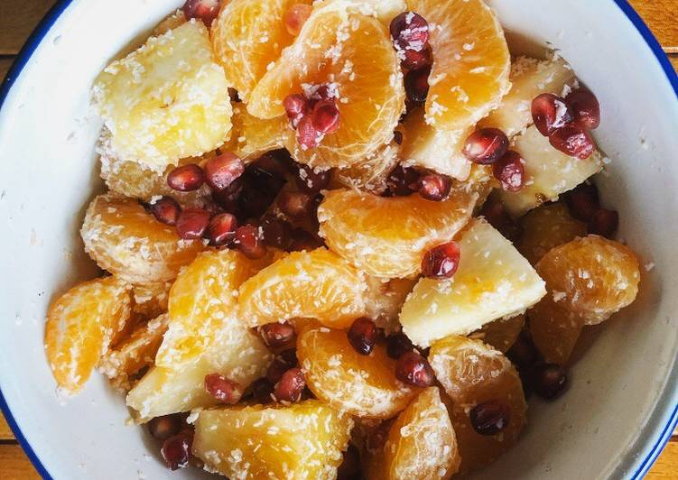 Easiest Way to Prepare Quick Fruit Salad