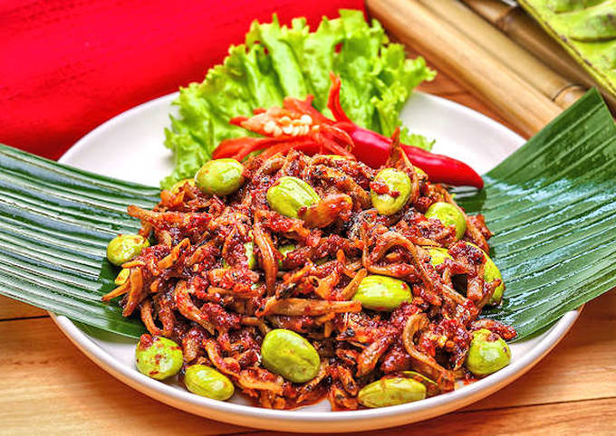 resep sambal petai ikan teri - resepenakbgt.com