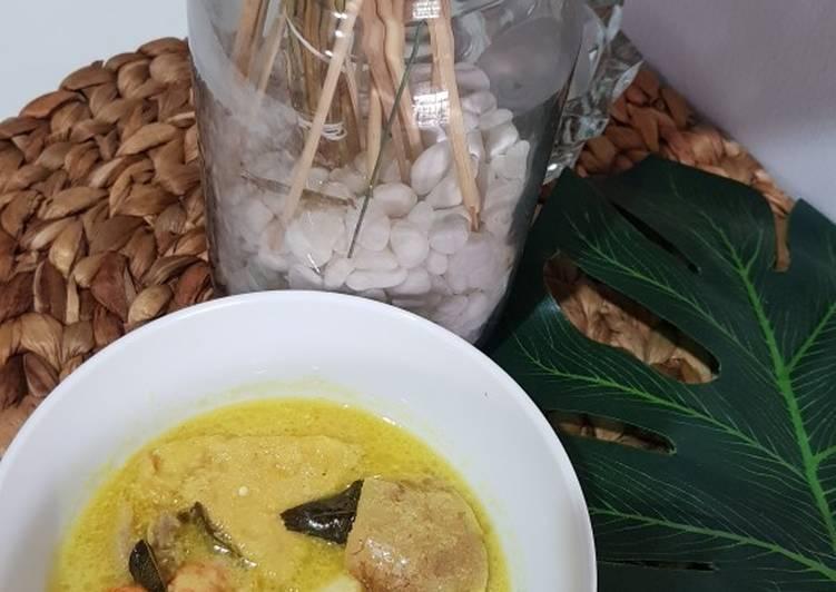 Kari Udang Tahu Ayam For Batita