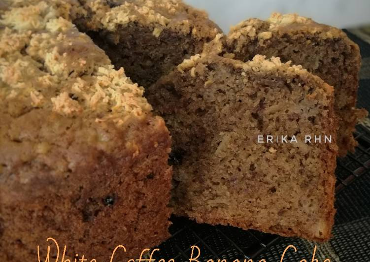 White Coffee Banana Cake (tanpa mixer)