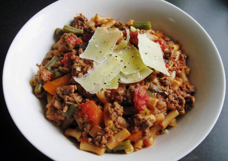 Macaroni & Beef Mince