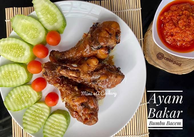 Ayam Bakar Bumbu Bacem