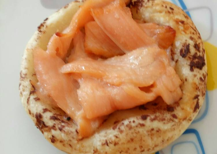 Easiest Way to Make Appetizing Smoked salmon Tartlet
