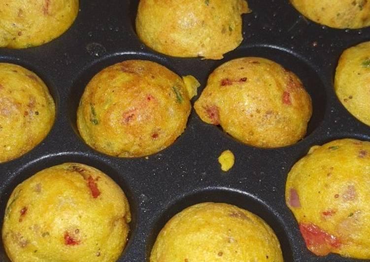 10 Minute Recipe of Vegan Rava appam
