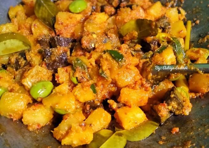 sambal goreng kentang, ati & petai - resepenakbgt.com