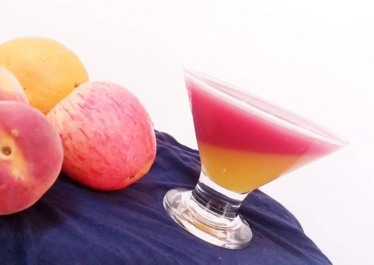 Recipe of Homemade Homemade fruit jelly