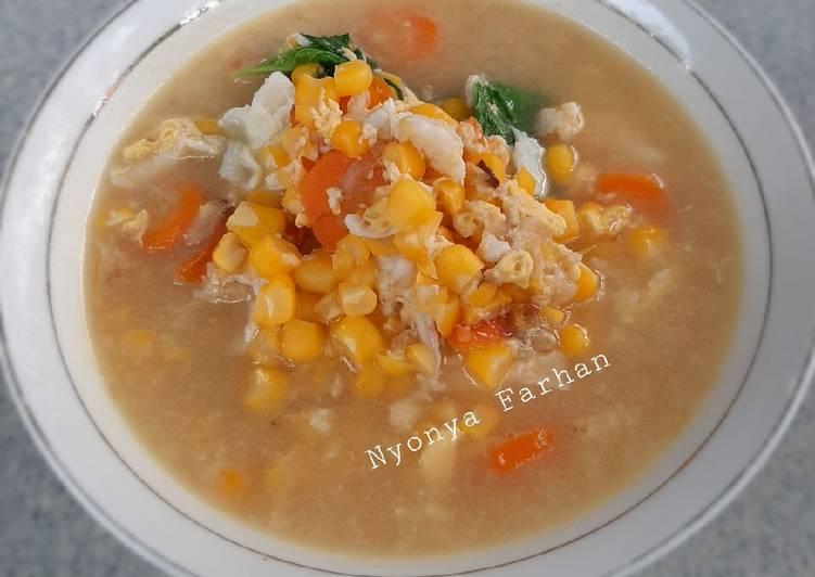 8 Resep: Sup telur orak arik Anti Ribet!
