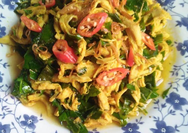 Resep Tumis Ayam Suwir Daun Melinjo Menggugah Selera Resep Masakanku