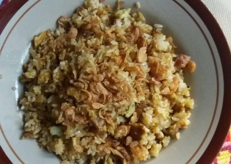 NasGor kecap orak arik telur#5 resep pertamaku