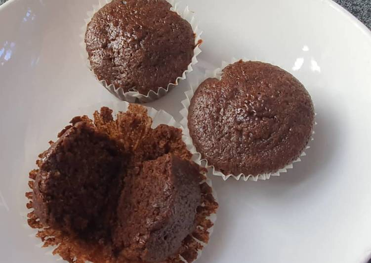 Use Food to Boost Your Mood Quick and Moist Chocolate Cupcakes (Eggless)