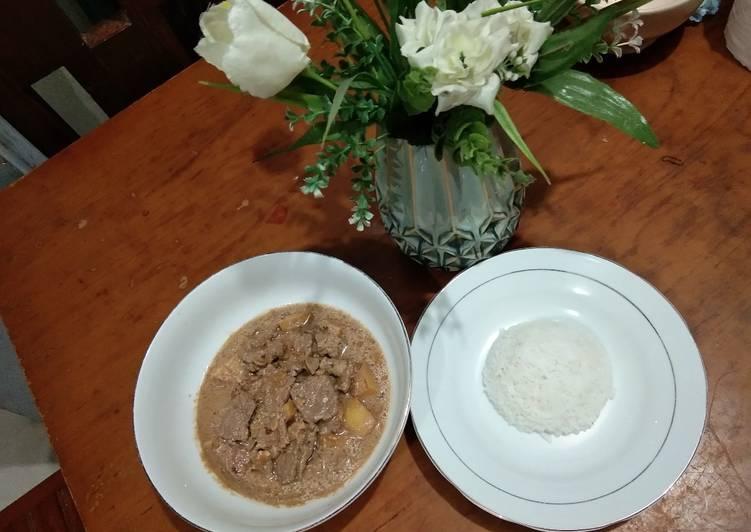 Kuah Daging Nasi gandul