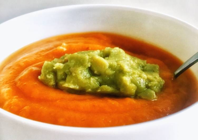 Soupe patate douce - radis noir