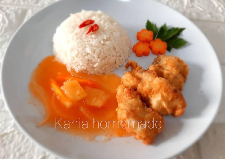 Ikan Dori Asam Manis