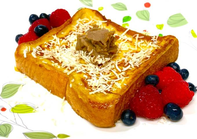 Coconut Milk French Toast