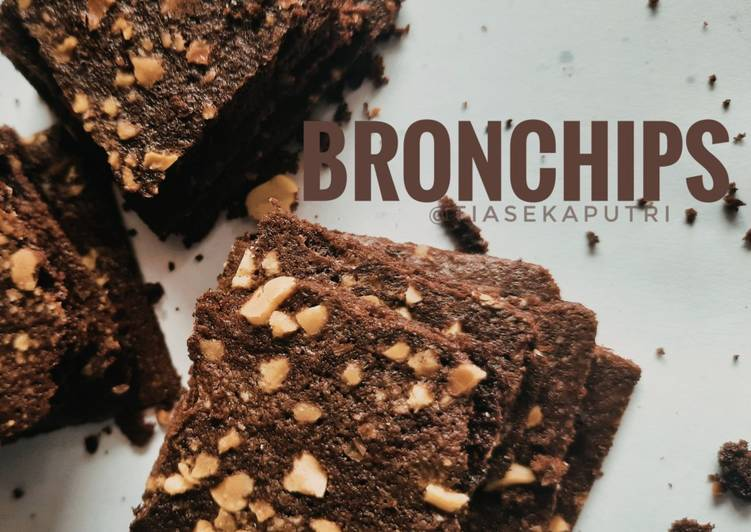 Bronchips/ Kripik Brownies