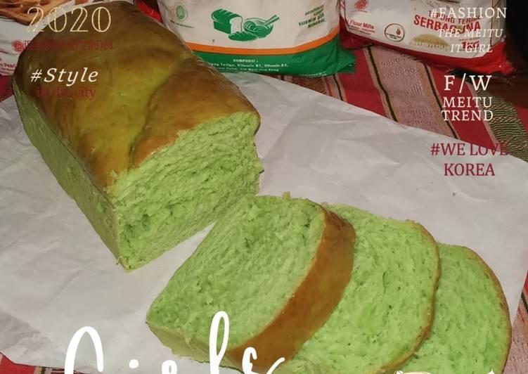 Roti Tawar Pandan