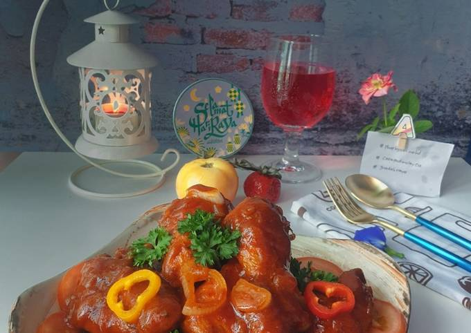 Ayam Masak Merah#PhopByLiniMohd#PHOP#JuadahRaya