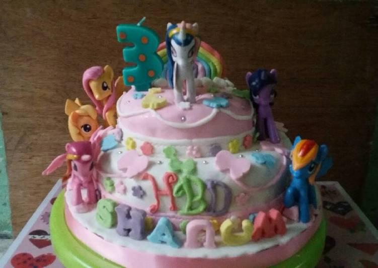 Resep Kue Ultah Little Pony Oleh Yeni Cookpad
