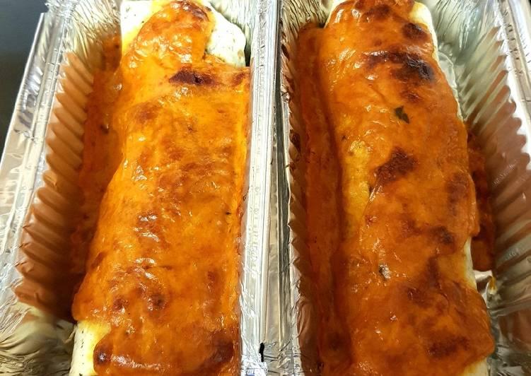 My Chicken & Chorizo Enchiladas. 😁