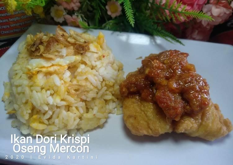 Ikan Dori Krispi Oseng Mercon