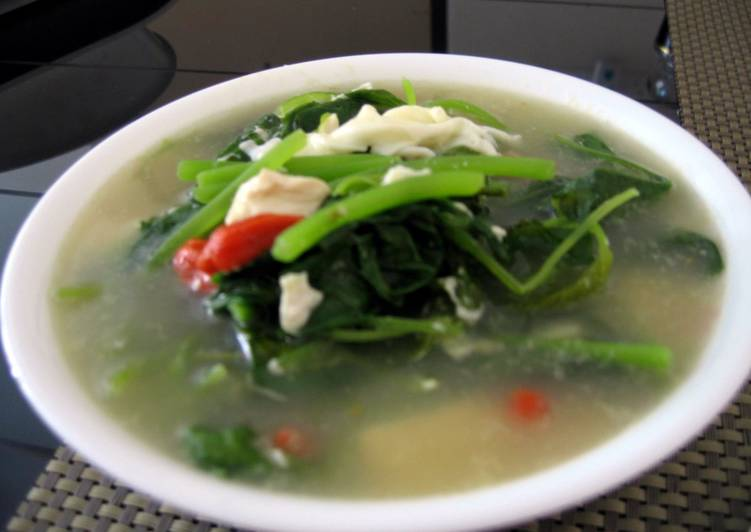 SpinachAnd Egg Soup
