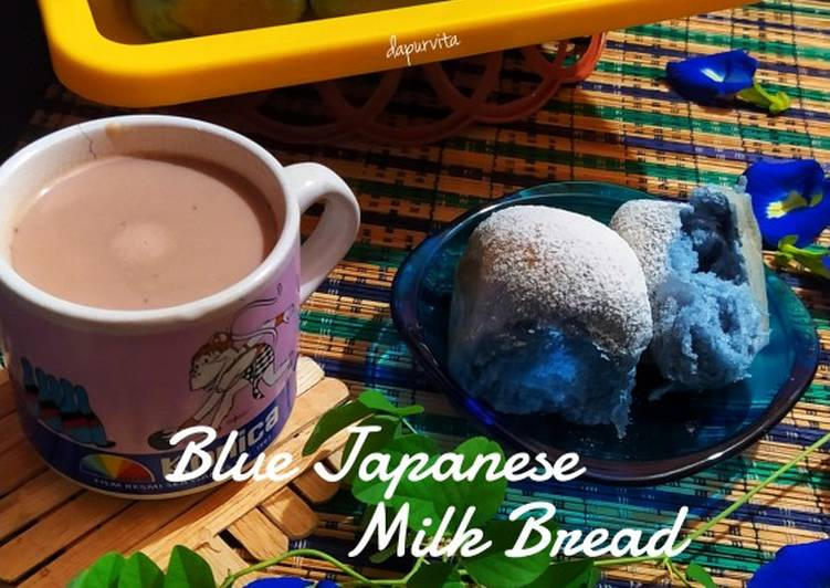 Blue Japanese Milk Bread