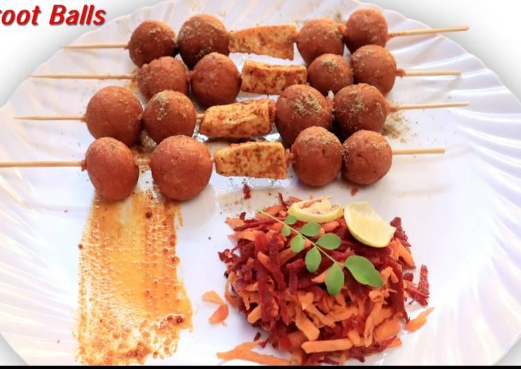 Recipe of Favorite Beetroot balls