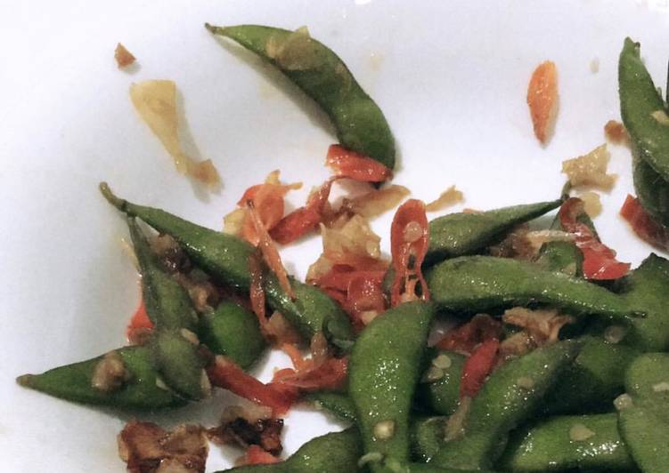 7 Resep: Spicy Edamame Kekinian