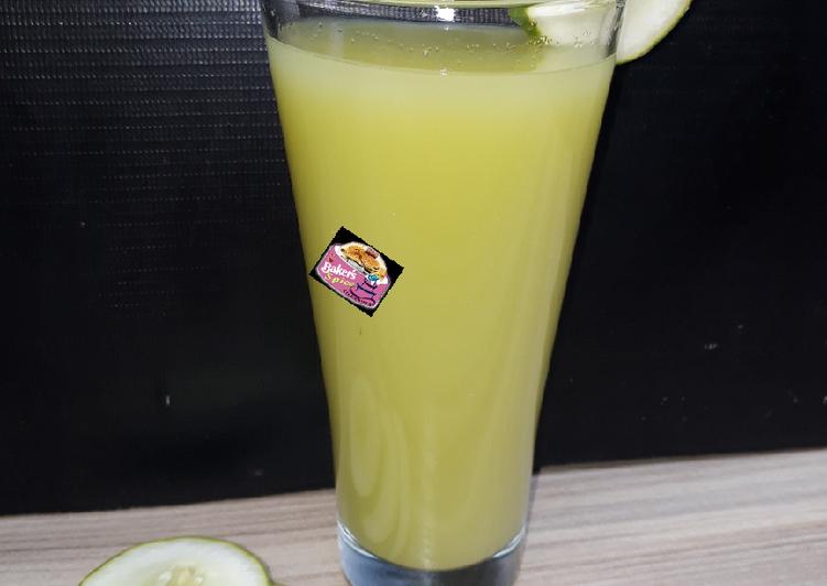 Easiest Way to Make Award-winning Cucumber juice