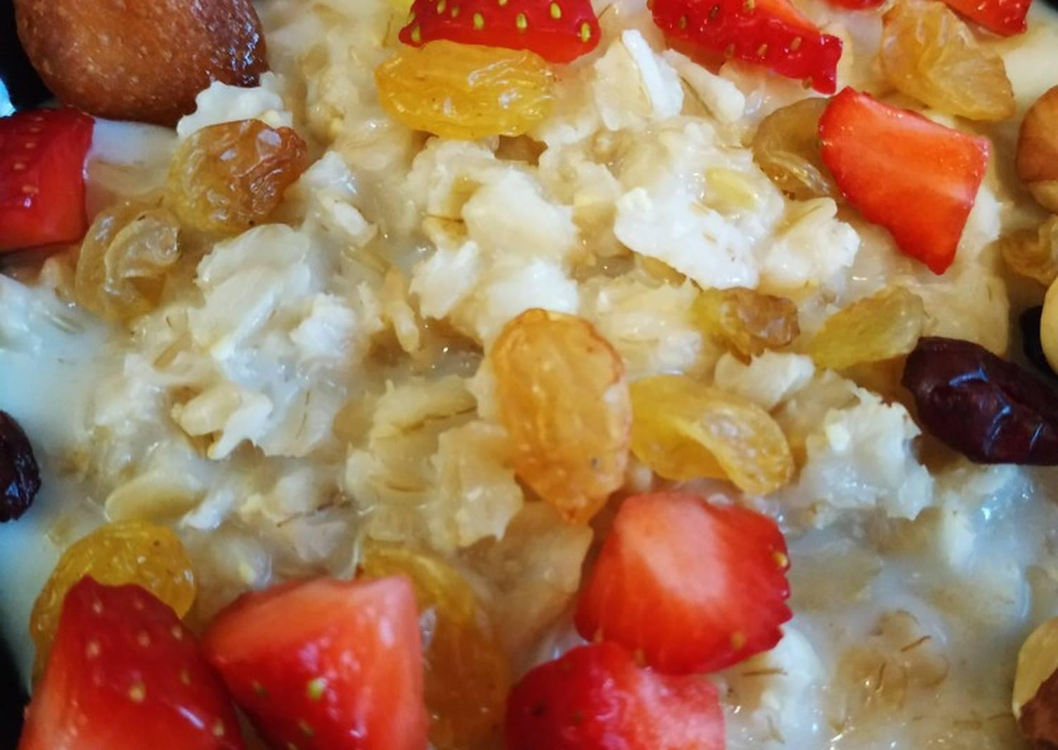 овсянка на завтрак рецепт фото стразы бусинки