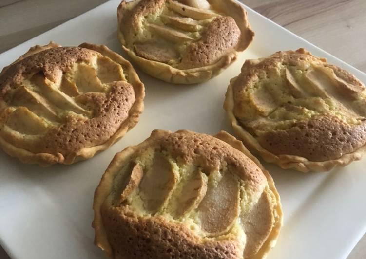 recette Tartelettes poire Amandine le délicieux