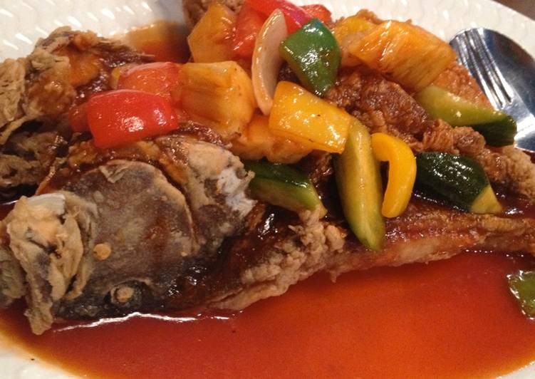 Recipe: Appetizing Sweet and Sour Fish