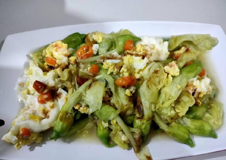 Resep Tumis Kembang Turi (Rendah Kalori)