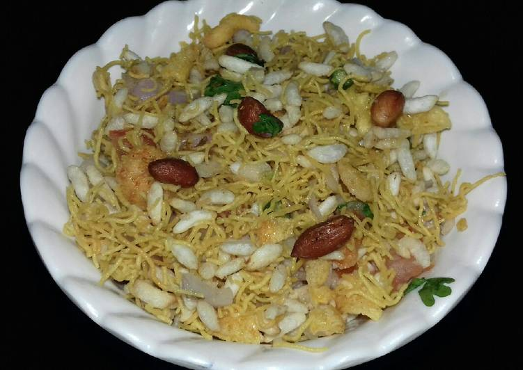 25 Minute How to Make Quick Bhel puri