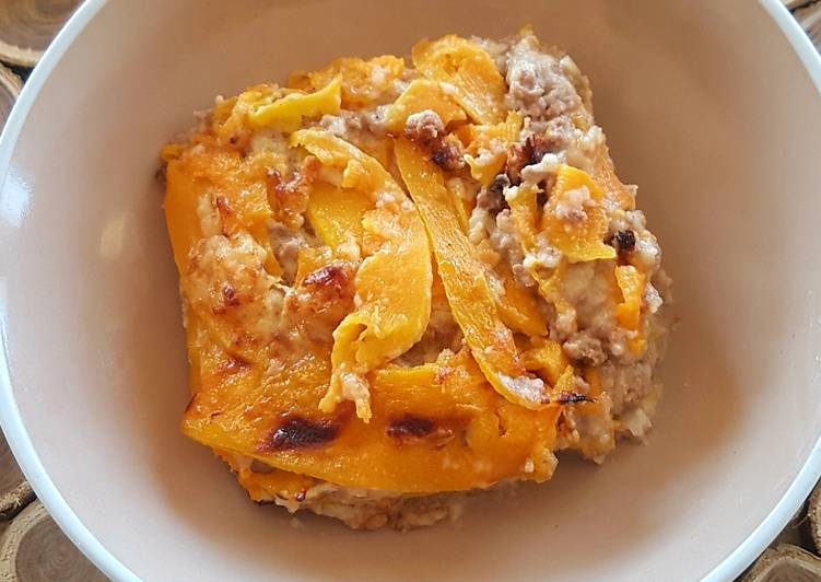 Recipe: Appetizing Pumpkin lasagna