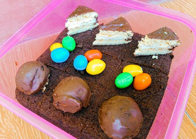Brownies Kukus Magic Com (takaran sendok)