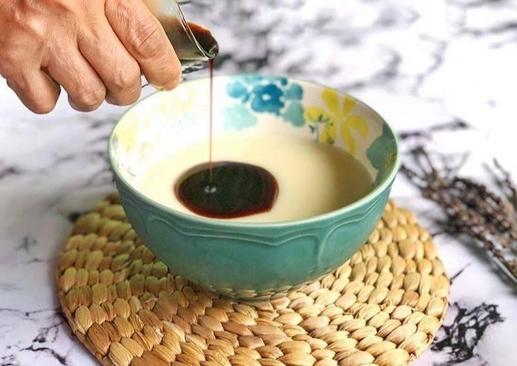Pudding Susu Gula Merah ala Gyukaku